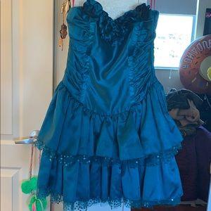 Betsey Johnson Prom strapless dress